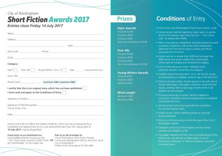 2017 Short Fiction Awards Entry Form 2