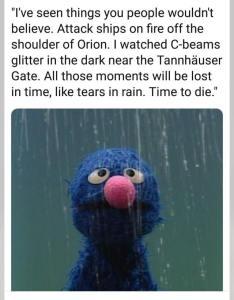Grover rain